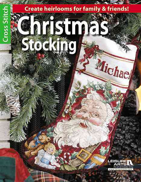 Christmas Stocking By Leisure Arts, Inc.
